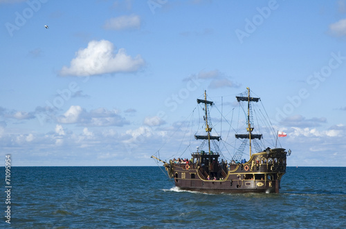 Canvas Prints Ship Galleon