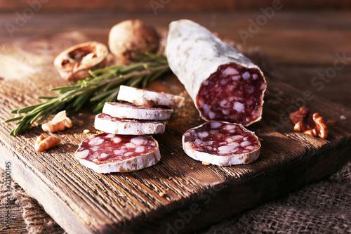 Fototapeta French salami obraz
