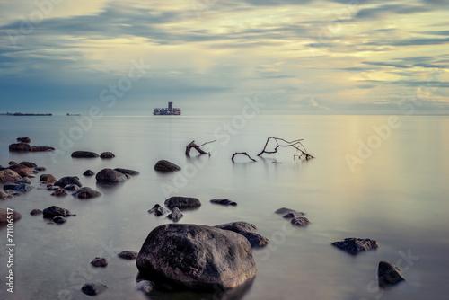 Fotobehang - Krajobraz Morski, morze, wybrzeże
