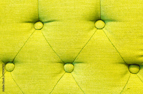 Fotografía  Green lamon sofa texture and background