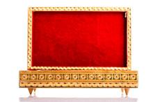 Opened Red Velvet Box