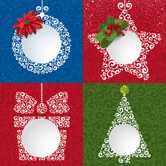 Fototapeta Christmas backgrounds