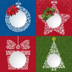 Fototapeta Boże Narodzenie/Nowy Rok Christmas backgrounds