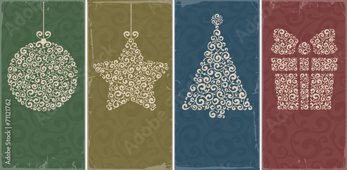 Christmas backgrounds - 71121762