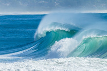 Ocean Waves Scenic Color
