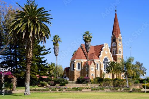 Fotografie, Obraz  Christuskirche, Windhoek, Namibia