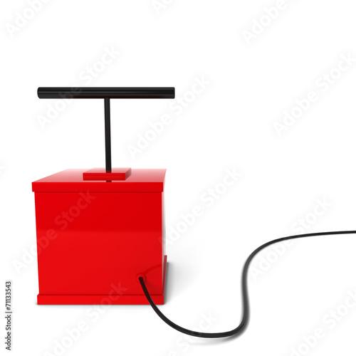 Papel de parede  Red detonator