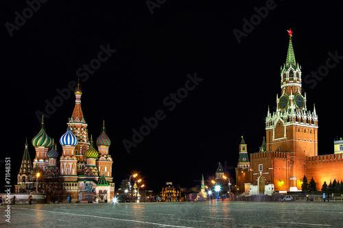 Fotografía  Красная Площадь ночью