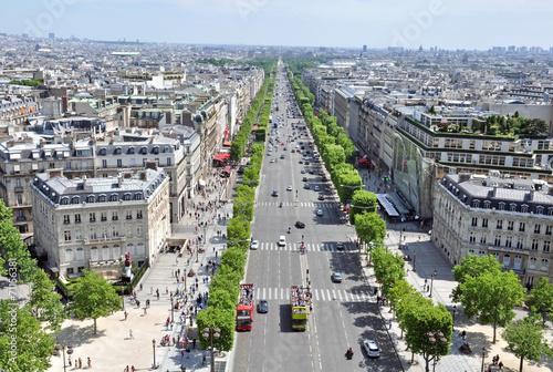 Fotografie, Obraz  Champs elysees, Paris
