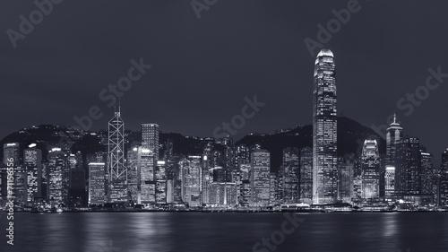 Foto op Canvas Brooklyn Bridge Victoria Harbor of Hong Kong