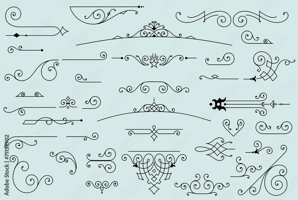 Fototapety, obrazy: 36 design elements