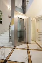 Interior Of A Corridor With Pa...