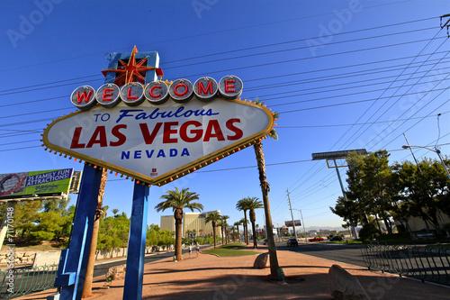 Poster Las Vegas Panneau Fabulous Las vegas