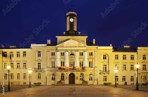 City hall in Plock. Poland Tapéta, Fotótapéta