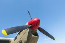 The Propeller Of De Havilland Mosquito Bomber
