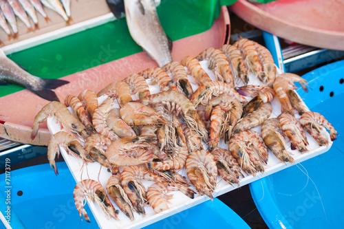 Photo  Fish market & Seafood: Istanbul, Bosphorus