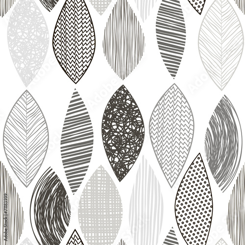 bezszwowy-monochromu-wzor-z-abstrakcjonistycznymi-liscmi