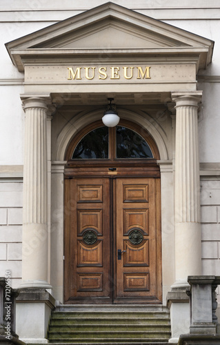 Museum Entry Canvas Print