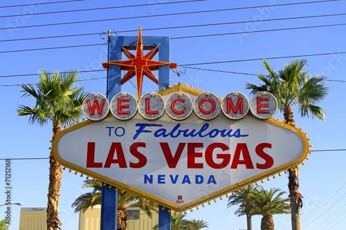 Foto op Aluminium Las Vegas Panneau Fabulous Las vegas