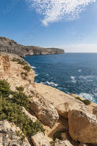 Fotobehang Oceanië The Dingli Cliffs in Malta