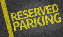 Parking Space Reserved For Res...