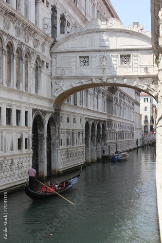 Fotografie, Obraz  The Bridge of Sighs, Venice, Italy