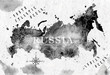 Ink Russia map