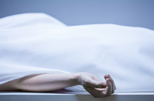 Remains Of Person In Morgue