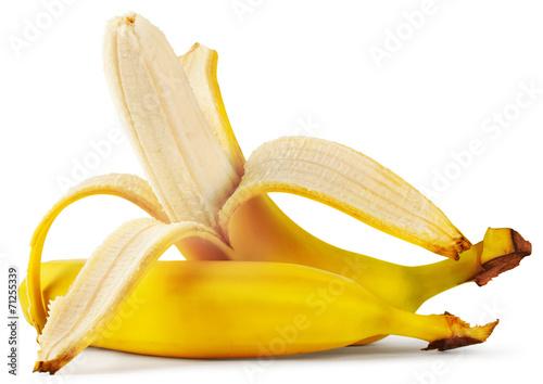 Fotografie, Obraz  Ripe peeled banana
