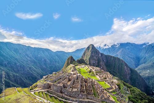 obraz dibond Machu Picchu Panorama
