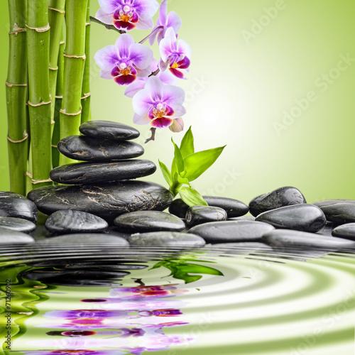 Naklejka na szybę Kamienie zen