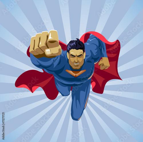 latający superbohater