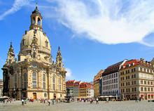 Lutheran Church Dresden Frauenkirche In Dresden
