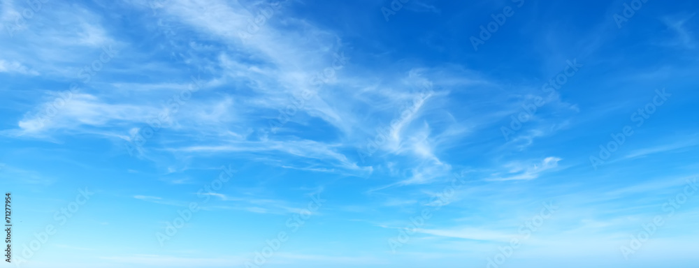 Fototapety, obrazy: blue sky with clouds