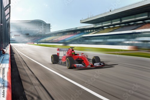 Photo sur Aluminium Motorise carscene 115