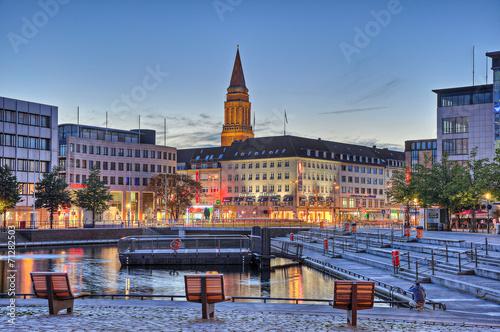 Keuken foto achterwand Berlijn Hafen Kiel