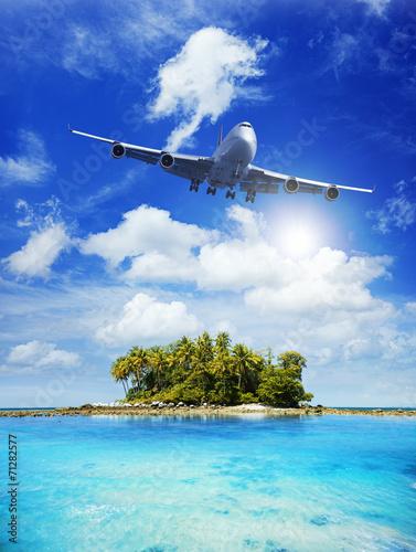 Fotografie, Obraz  Air travel concept