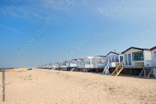 Fotografie, Tablou Beach huts