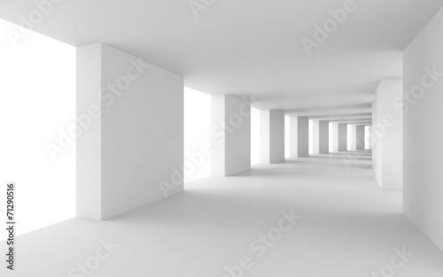 streszczenie-tlo-3d-pusty-wygiety-bialy-korytarz