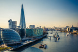 Fototapeta Londyn - Thames and London City