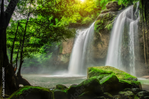 Poster Watervallen Heo Suwat Waterfall