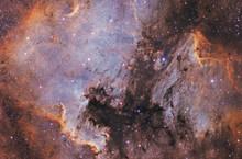 Nebulosity In The Milky Way.