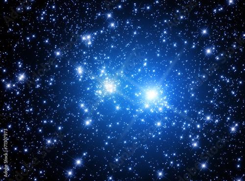 Supernova explosion. Poster