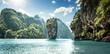 canvas print picture - James Bond Island