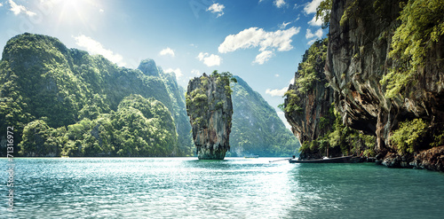 Fotografie, Obraz  James Bond Island
