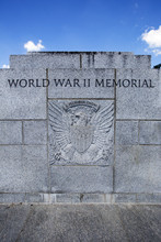 World War II Memorial In Washington