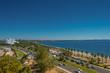 Modern cityscape and nature of beautiful Antalya, Turkey