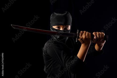 Photo  Ninja kid