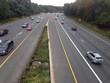 aerial view of American highway