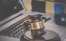 Law Legal Concept Gavel On Com...